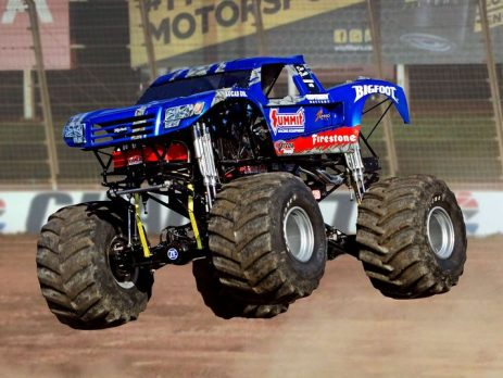 Experience Car Crunching Action At The Monster Truck Beach Devastation Show